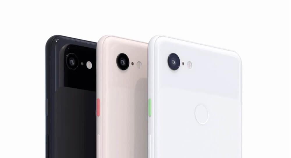 Pixel 3 side colors