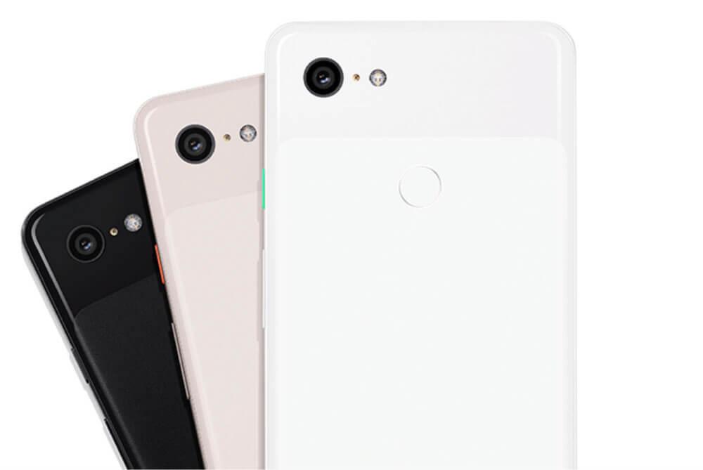 Pixel 3 - back colors
