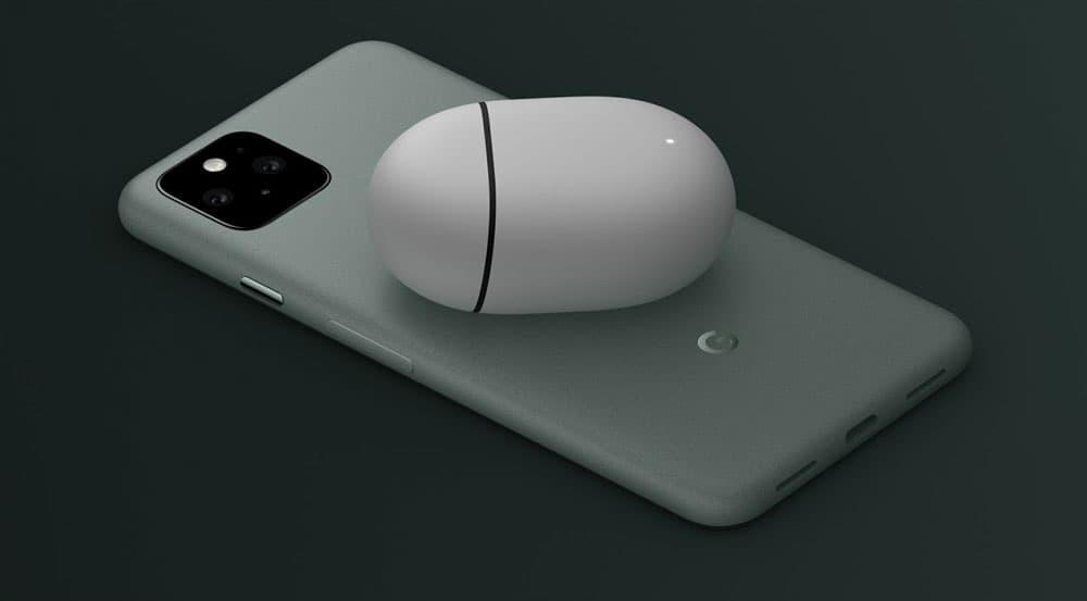 Pixel 5 Sorta Sage Wireless Charging